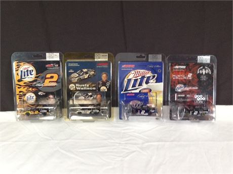 Rusty Wallace Collectable Car Lot