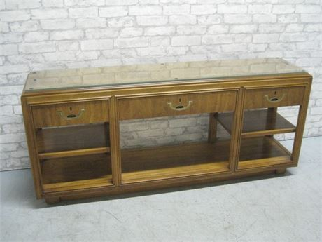DREXEL CONSOLE/SOFA TABLE