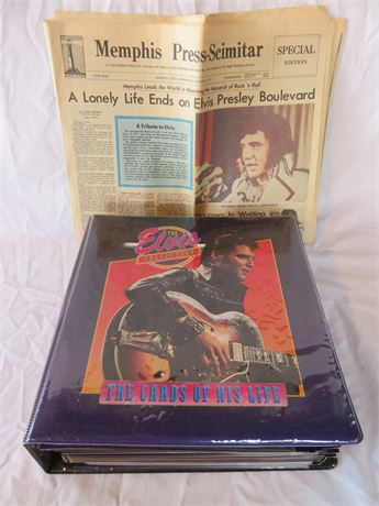 Complete ELVIS PRESLEY Trading Card Collection