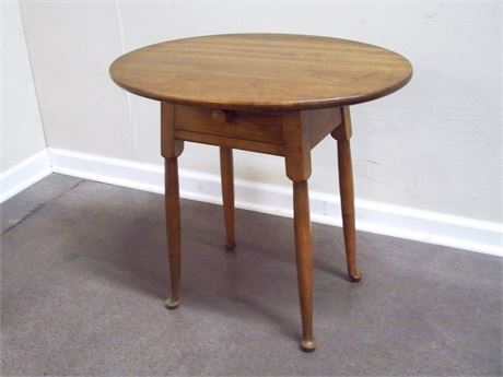 OVAL LEOPOLD STICKLEY SIDE TABLE
