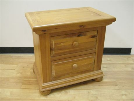 KNOTTY PINE NIGHTSTAND