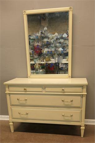 Impressa Princess Dresser with Mirror by Kent-Coffey