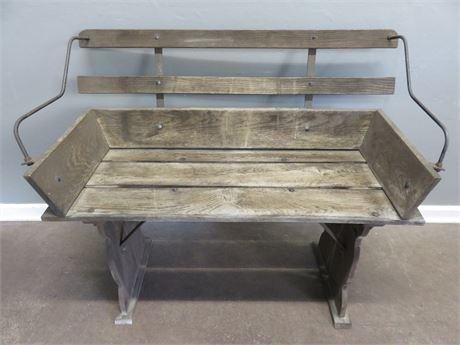 Rustic Bench