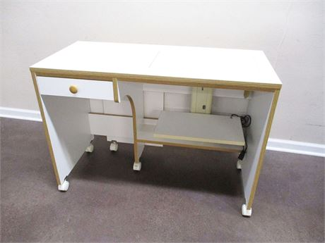 EXPANDABLE SEWING/CRAFT TABLE