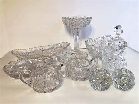 Crystal Serving Lot
