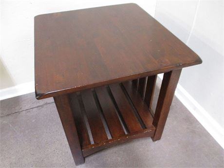 MISSION-STYLE TABLE