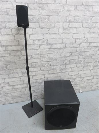 POLK AUDIO Subwoofer & Satellite Speaker