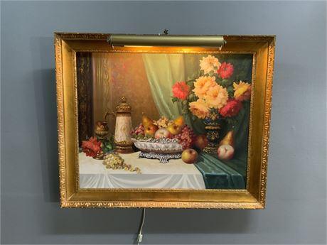 Bela Balogh - Original Oil Painting on Canvas