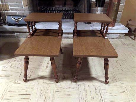 Baumritter Maple End Tables