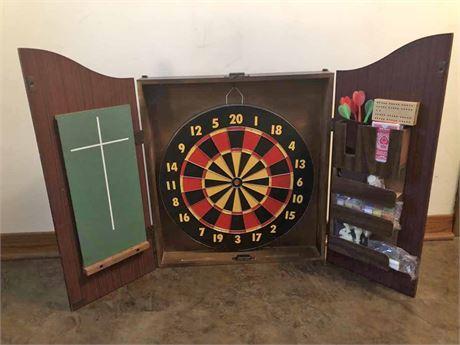 Golden Clipper Dart Cabinet & More