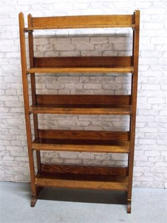 VINTAGE MISSION STYLE BOOKCASE