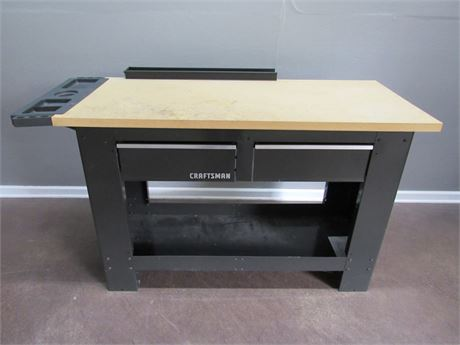 2 Drawer Craftsman Workbench