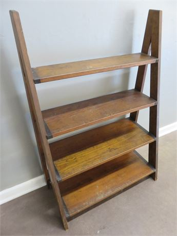 Vintage Ladder Shelf