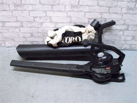 TORO ELECTRIC SUPER BLOWER/VAC WITH BAG AND ATTACHMENTS