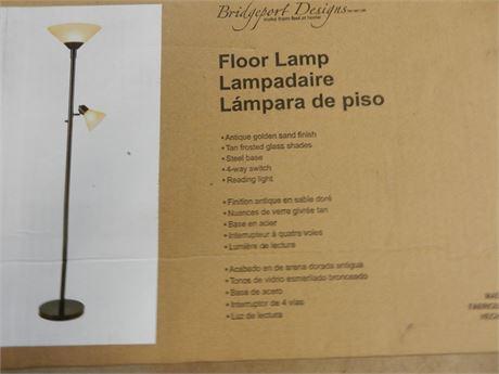 Bridgeport Floor Lamp New in Box