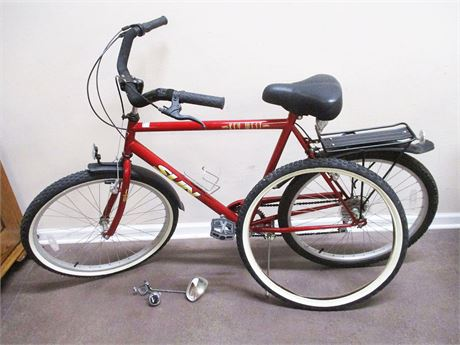 "SUN ""KEY WEST"" SUN CRUISER 26"" 7-SPEED BICYCLE WITH EXTRAS"
