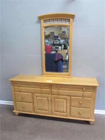 Cochrane Furniture Dresser with Mirror