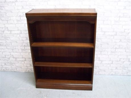 2-SHELF ADJUSTABLE DISPLAY/BOOKCASE