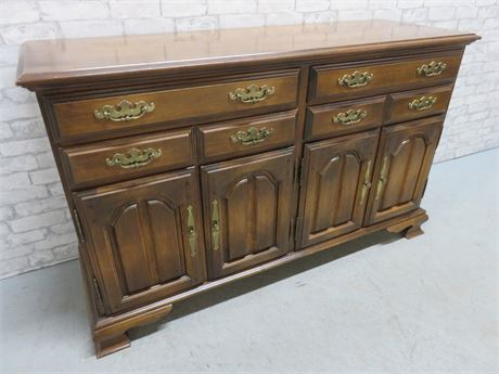Vintage HALE FURNITURE Colonial Buffet Cabinet