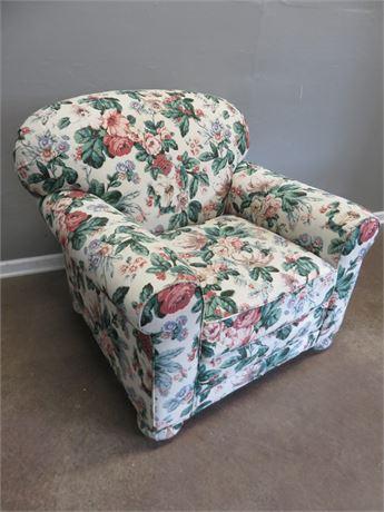 LEE INDUSTRIES Floral Arm Chair