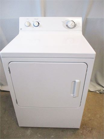 GE 6.0 CU.FT. EXTRA-LARGE CAPACITY ELECTRIC DRYER