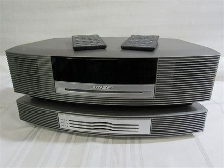 Bose Wave Music System AM/FM/CD Alarm Clock with Multi-CD Changer
