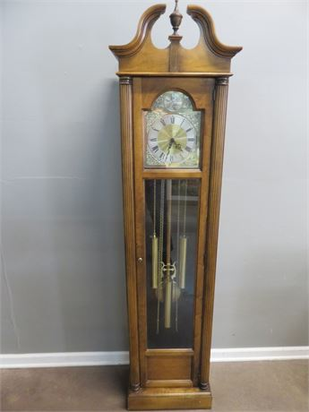 HOWARD MILLER Tempus Fugit Grandfather Clock