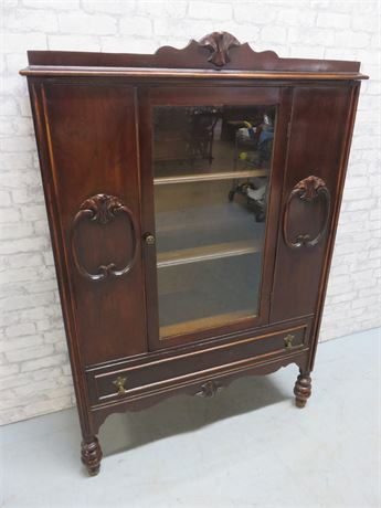 Vintage Chippendale Mahogany Cabinet