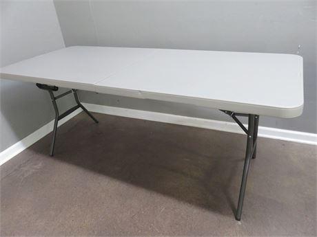 LIFETIME 6 ft. Folding Banquet Table