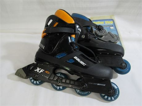BAUER XF4 FITNESS IN-LINE SKATES - SIZE 12