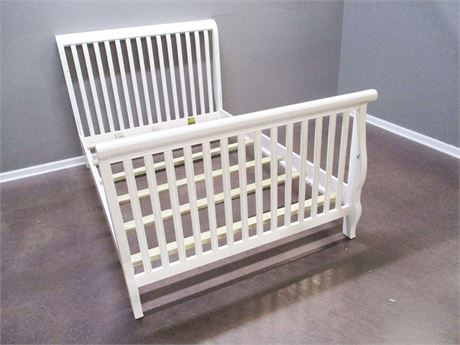 STANLEY YOUNG AMERICAN FULL SLEIGH BED
