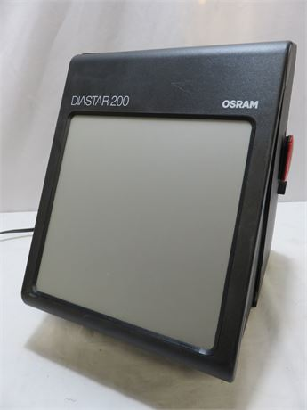 OSRAM DIASTAR 200 Slide Viewer