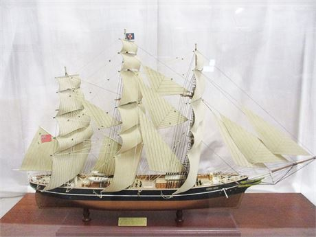 """CUTTY SARK"" MODEL CLIPPER SHIP"