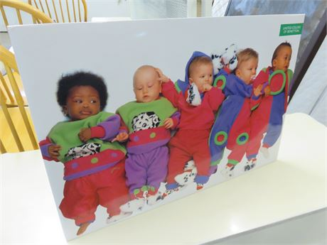 UNITED COLORS OF BENETTON Promotional Print