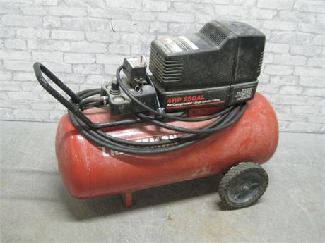 CRAFTSMAN 4HP 25 GALLON AIR COMPRESSOR