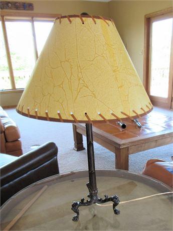 Nice Cast Metal 3-Way Lamp