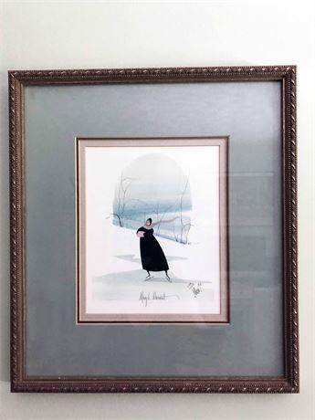 P. Buckley Moss Signed Lithograph