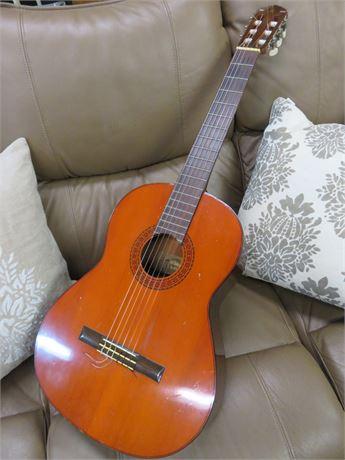 Vintage 1970s YAMAHA G-65A Acoustic Guitar
