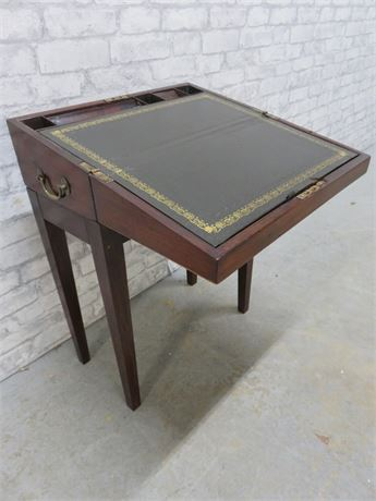 Antique Slant Top Writing Desk