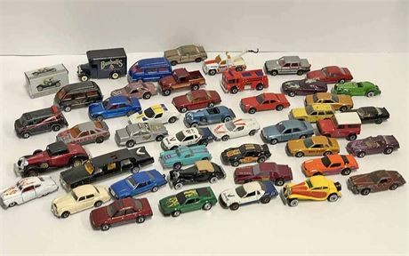 Vintage Miniature Cars & Hot Wheels