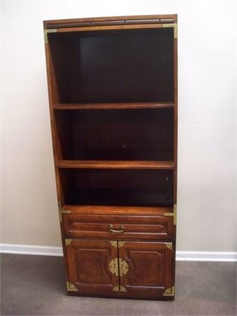 BERNHARDT DISPLAY/BOOKCASE