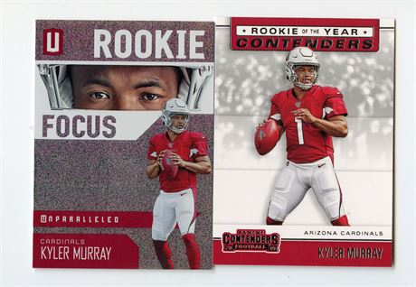 KYLER MURRAY ROOKIE CARD LOT 2019 CONTENDERS & UNPARALLELED