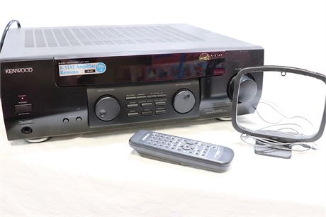 KENWOOD Amplifier Audio/Tuner/RECEIVER with remote