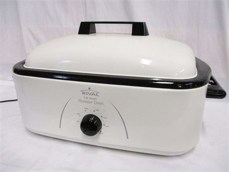 RIVAL 18QT. ELECTRIC ROASTER MODEL R0180