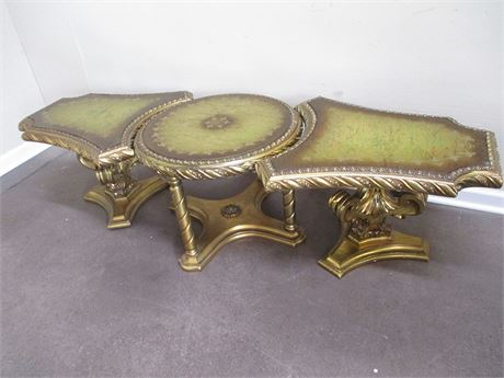 VINTAGE ORNATE CONFIGURABLE COCKTAIL TABLE
