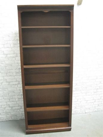 LARGE BOOKCASE WITH ADJUSTABLE SHELVES