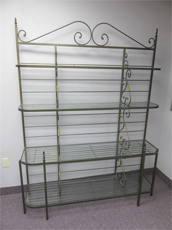 Large French Bakers Rack