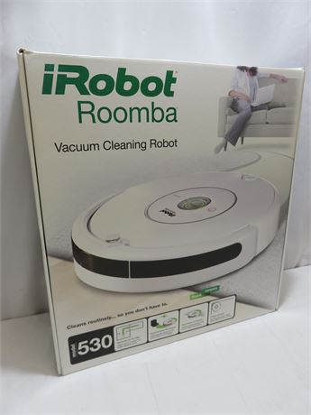 iRobot 530 Roomba Vacuuming Robot