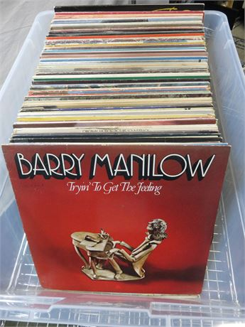 Over 80 Vintage Record Albums