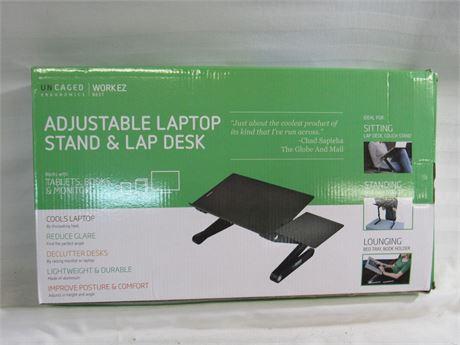 NIB - Uncaged Workez Adjustable Laptop Stand/Lap Desk